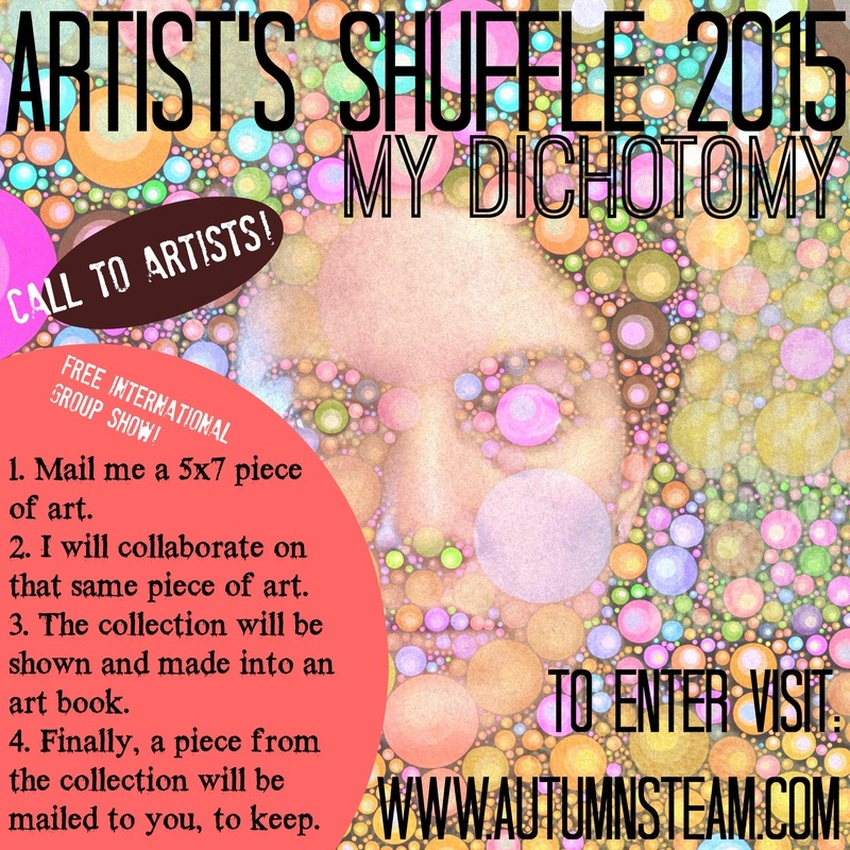 Artist's Shuffle Call to Artists. Autumnsteam.com. Due April 1, 2015